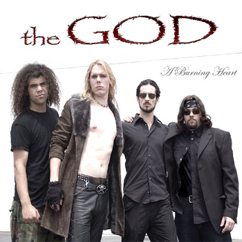 The God A Burning Heart Album Cover