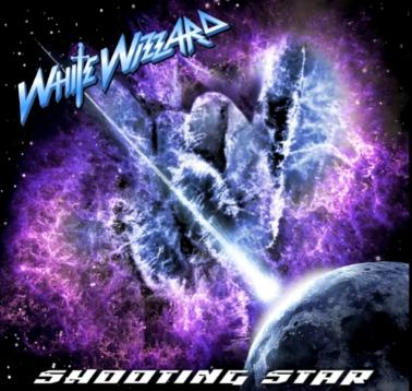 White Wizzard Shooting Star Album Cover